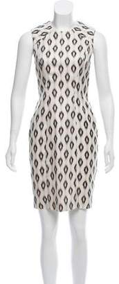 Yigal Azrouel Printed Silk Dress