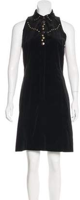 Tomas Maier Embellished Sleeveless Dress