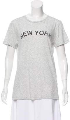 Rebecca Minkoff Graphic Print Knit Top