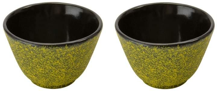 Small Lemon Cast Iron Tea Cup - Set of 2