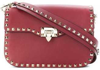 Valentino Rockstud flip-lock shoulder bag