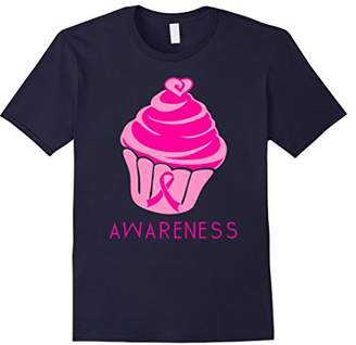 Cup Cake Pink Ribbon Hope Breast Cancer Awareness T-Shirt