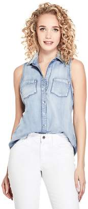 Brixton Guess Factory Women's Chambray Top