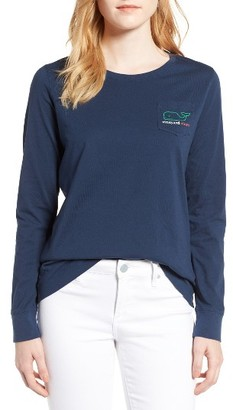 Women's Vineyard Vines St. Paddy's Day Logo Tee $49.50 thestylecure.com