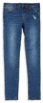 Joe's Jeans Girl's Vixen Distressed Tapered Jeans