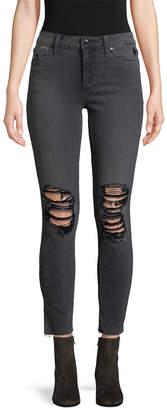 Joe's Jeans Skinny Ankle Distressed Pant