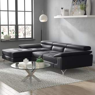 Wade Logan Courtdale Leather Sectional