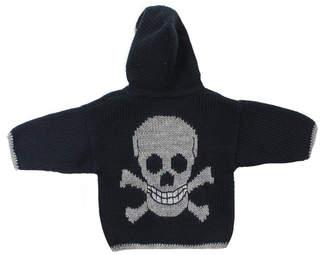 Artwalk Toddler Hooded Skull Sweater