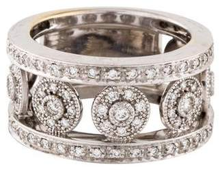 Charriol 18K Diamond Five Circle Ring