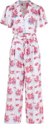 GUL HURGEL Floral Print Pant & Shirt Set