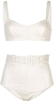Lisa Marie Fernandez Genevieve patterned bikini