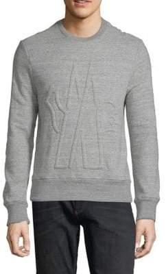 Moncler SS-Maglia Logo Sweatshirt