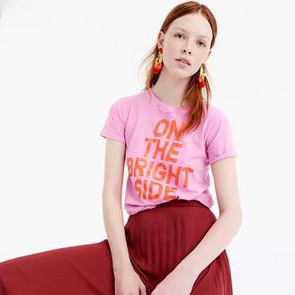 """J.Crew """"On the bright side"""" T-shirt"""