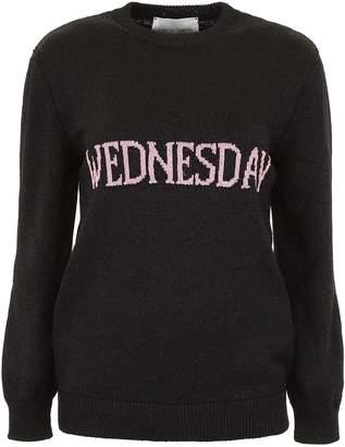 Alberta Ferretti Lurex Wednesday Pullover