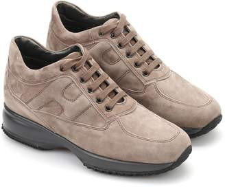 Hogan Interactive Suede Sneakers