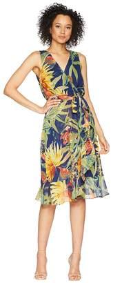 Sangria Surplus Front Tie Front Dress Women's Dress