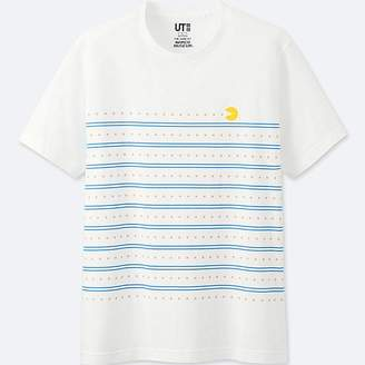 Uniqlo The Game By Namco Museum Short-sleeve Graphic T-Shirt (pac-man)
