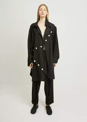 Yohji Yamamoto Easy Cloth Button Patched