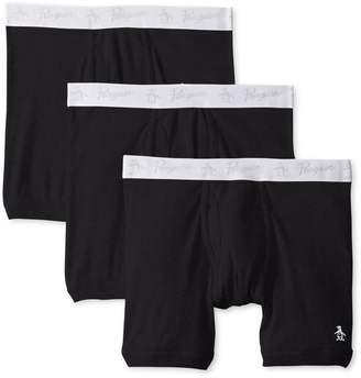 Original Penguin Men's 3 Pack Boxer Brief Underwear