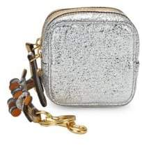Anya Hindmarch Metallic Double Zip Coin Purse
