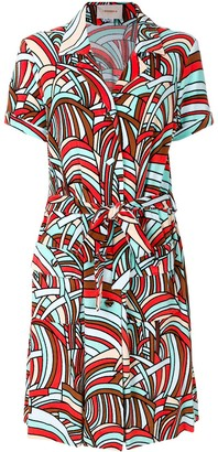 La DoubleJ Onde safari dress