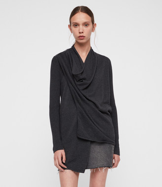 AllSaints Drina Cotton Cardigan