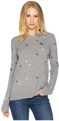 Equipment Shane Crew Star Cascade Embroidery Sweater Women's Sweater