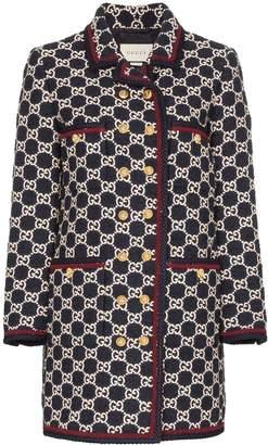 Gucci GG tweed coat