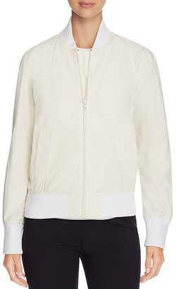 DKNY Coated Bomber Jacket $398 thestylecure.com