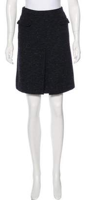 MAISON KITSUNÉ Pleated Knee-Length Skirt w/ Tags