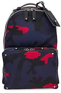 Saint Laurent Valentino Garavani Men's VLTN Camoflauge Backpack