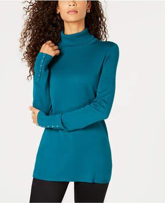JM Collection Turtleneck Sweater