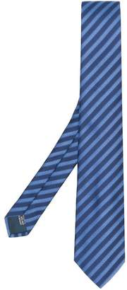 Lanvin striped formal tie