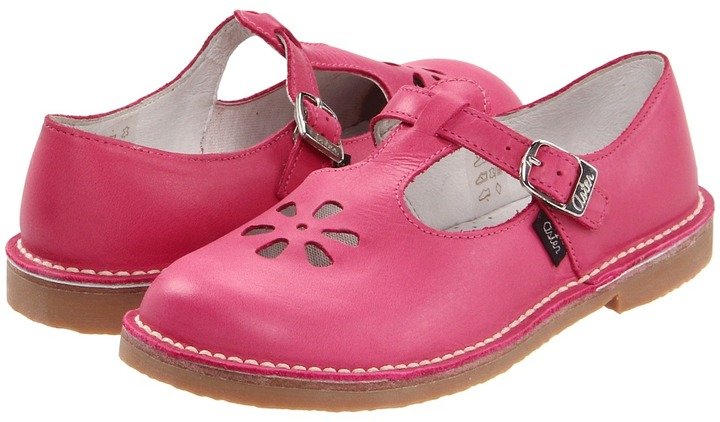Aster Kids - Dingo (Toddler/Youth) (Fuchsia Leather) - Footwear