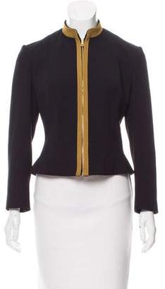 Ralph Lauren Black Label Structured Wool Jacket
