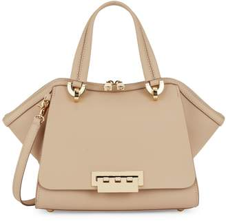 Zac Posen Small Eartha Leather Top Handle Bag