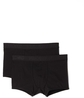 Moschino Bipack Trunks $65 thestylecure.com