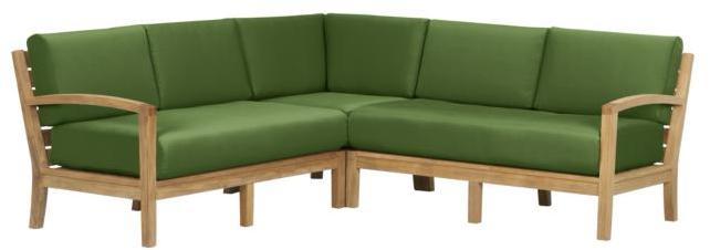 Trovata Modular 3-Piece Sectional/Cushions