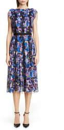 Jason Wu Collection Print Chiffon Day Dress