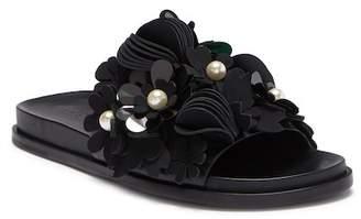 Mercedes Benz CASTILLO Alyse Flowered Slide Sandal
