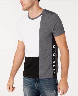 GUESS Men Colorblocked T-Shirt