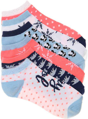 Mix No. 6 Winter No Show Socks - 6 Pack - Women's