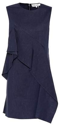 Diane von Furstenberg Linen-blend dress