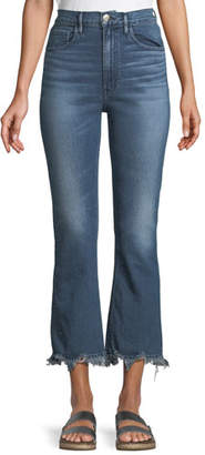 3x1 W5 Empire Cropped Bell-Bottom Jeans