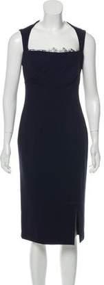 Blumarine Lace-Accented Sleeveless Dress