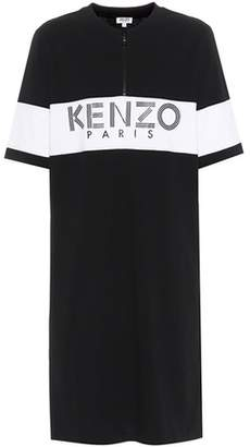 Kenzo Printed cotton T-shirt dress