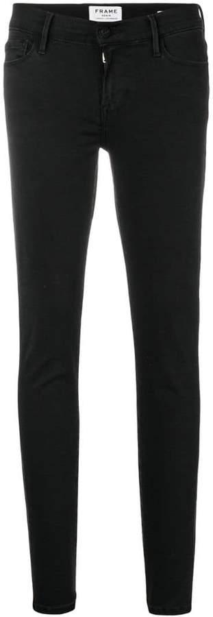 Cropped-Jeans mit geradem Schnitt