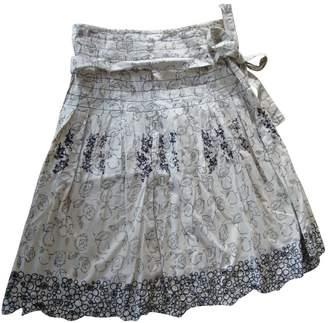 Stella Forest Ecru Cotton - elasthane Skirt for Women