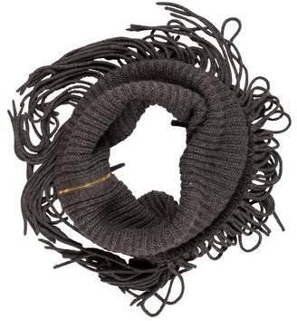 Gucci Alpaca & Wool Fringe Scarf