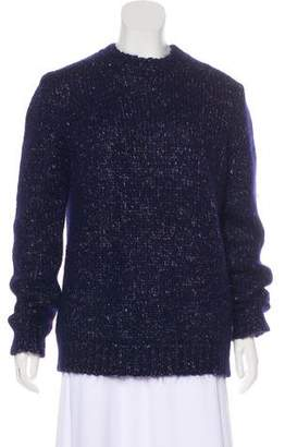 Celine Alpaca-Blend Crew Neck Sweater